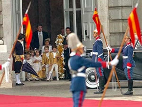 Los 5 nietos de los Reyes de España