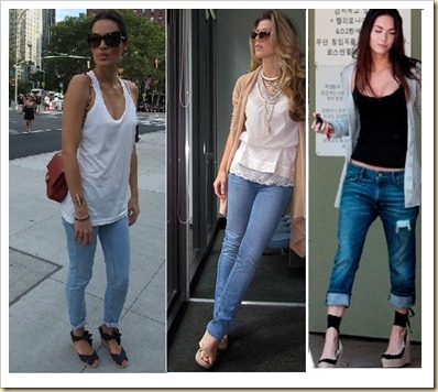 espadrilhas com jeans
