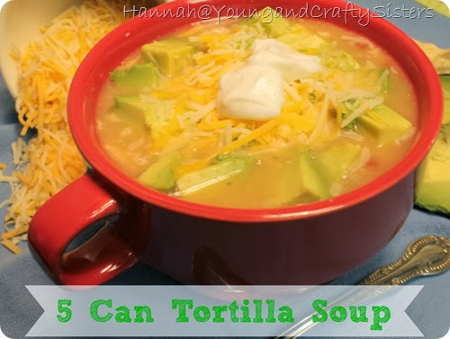 5 Can Tortilla Soup 1