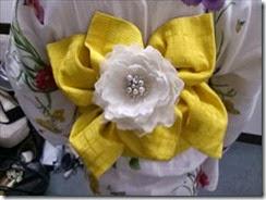 帯遊び 浴衣ファッションショーのお手伝い (6)