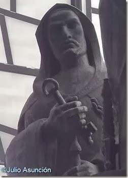 Musulmán entregando la llave del Castillo de Petrer