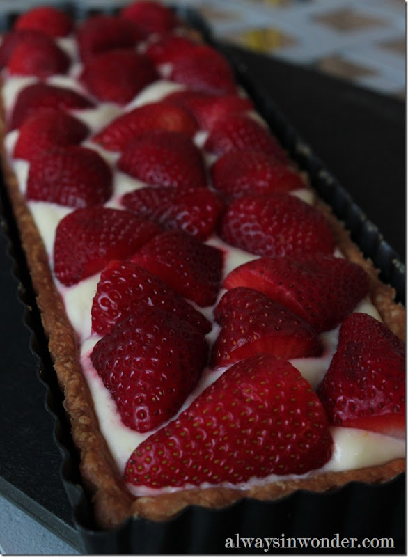 Strawberry Lemon Cream tart (2)