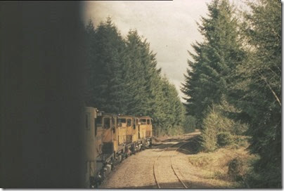 56154116-21 Riding the Weyerhaeuser Woods Railroad (WTCX) on May 17, 2005