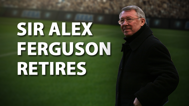 Sir Alex Ferguson Retires