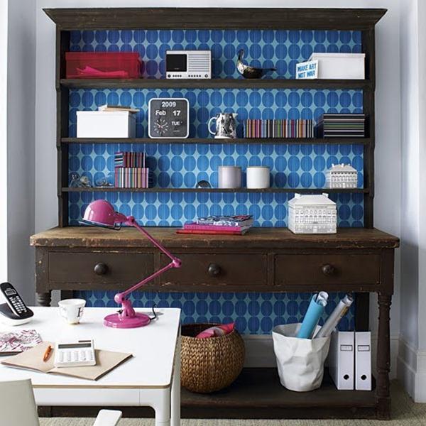 móveis revestidos com papel de parede arquitrecos via gazeta on line