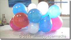balloons for armature