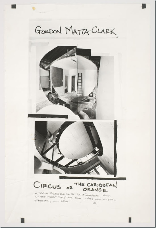 Gordon mata clark circus or the caribbean orange