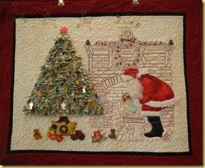 11.07 Dot's santa & tree