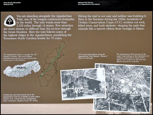 11f - Newfound Gap Stop - Appalachian Trail