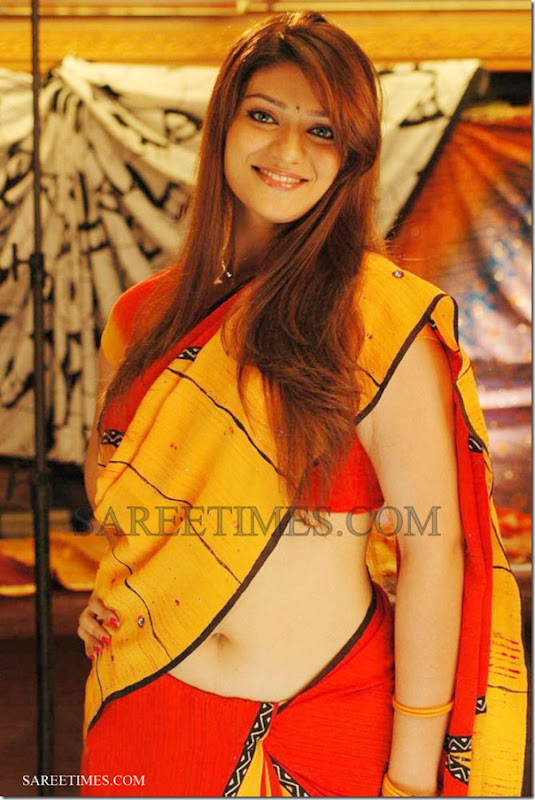 Siya_Yellow_Orange_Saree