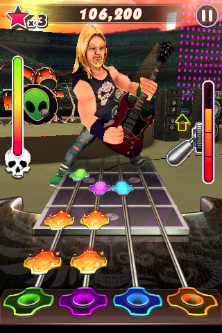 Descargar Guitar Rock Tour 2 para Nokia 5800 XpressMusic gratis