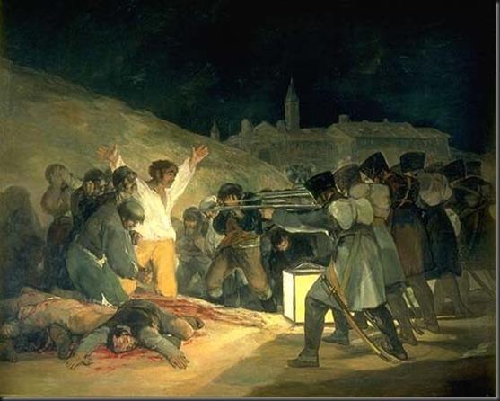 Fusilamientos del 2 de Mayo (Goya XIX)