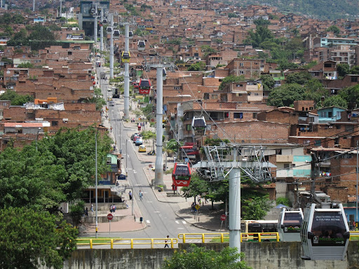 The Medellin Metrocable transit system