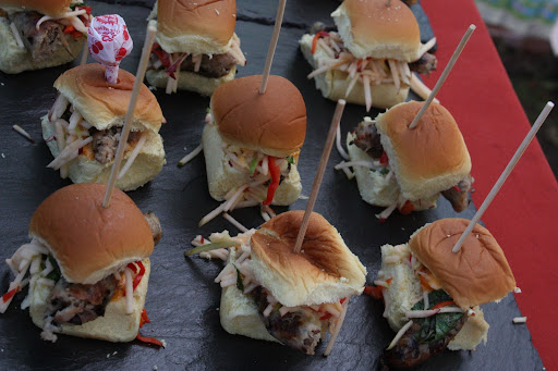 ...and Pork Sliders!