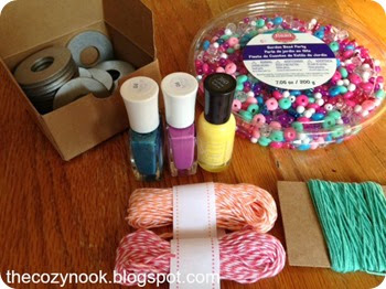 Washer Necklace Supplies - The Cozy Nook