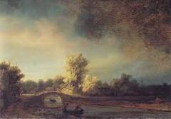 Rembrandt - Stone Bridge