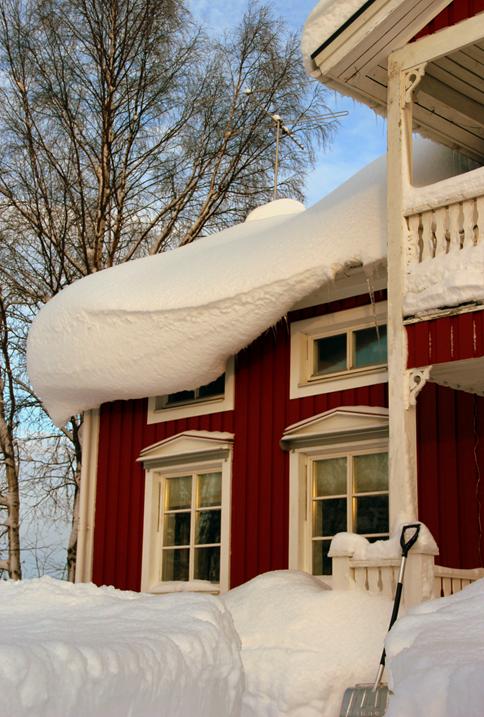 Snön på taket