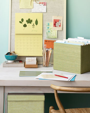 Add a splash of color to basic storage boxes.