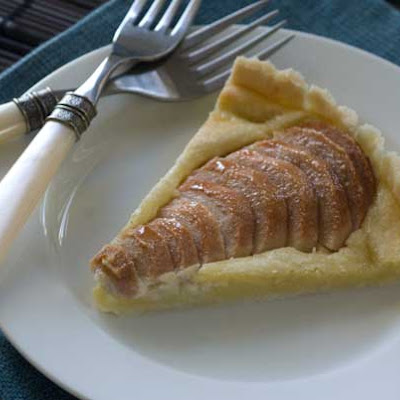 Gluten Free Easy Pear Almond Tart