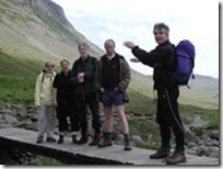 David with singers Langdale