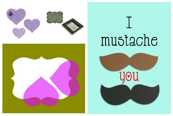 cafe creativo - AnnaDrai - Sizzix - Masculine card - Father's Day - mustache (4)