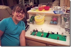 Lego landscape by Mikayla