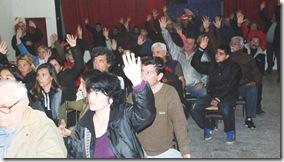 Se realizó la segunda asamblea en Santa Teresita