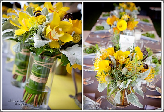 Table hana floral design