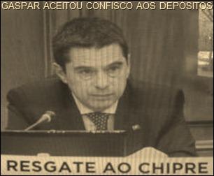 Eurogrupo unânime em proposta desonesta ao Chipre.Mar. 2013