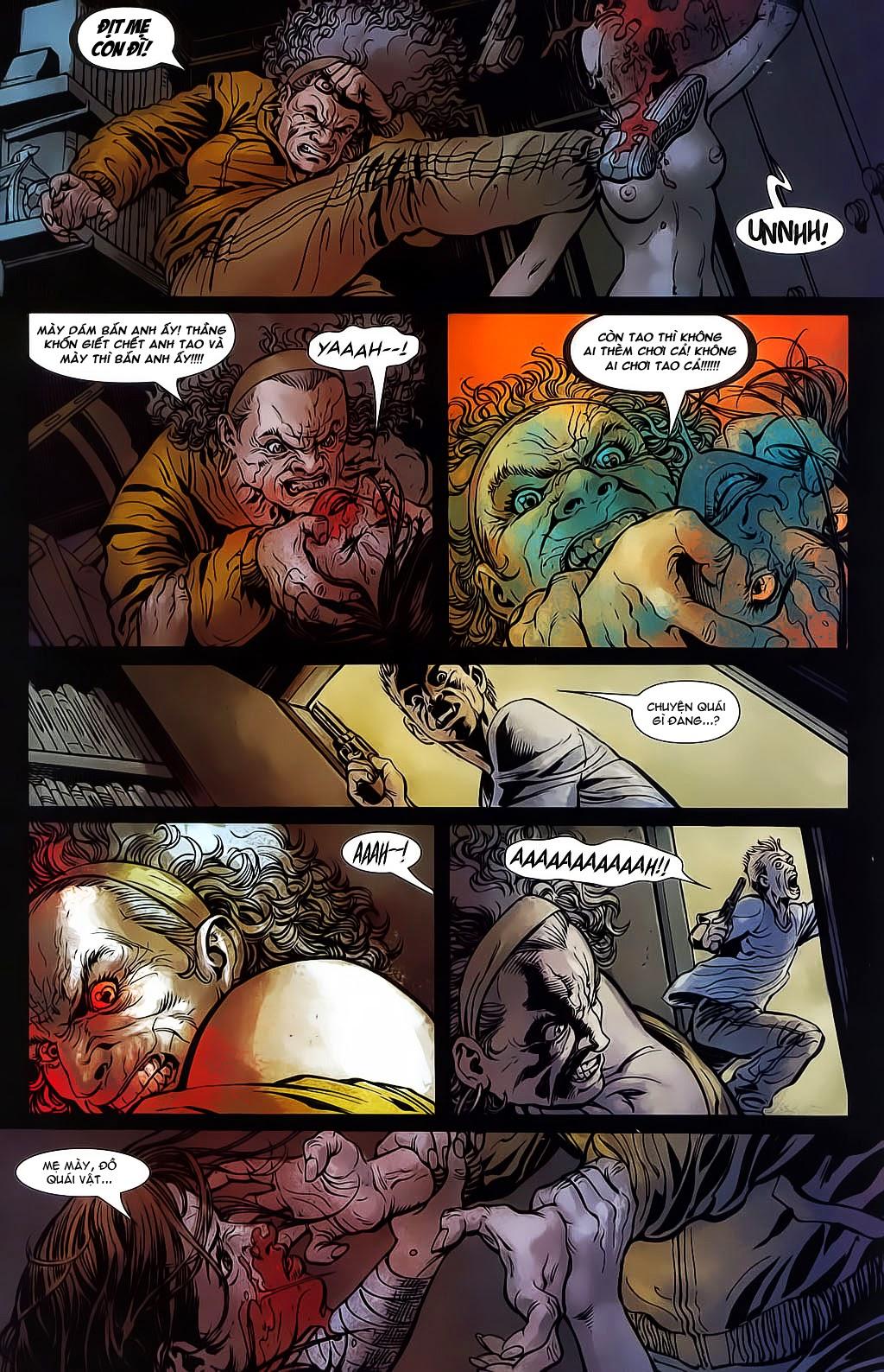 The Punisher: Trên là Dưới & Trắng là Đen chap 6 - Trang 6