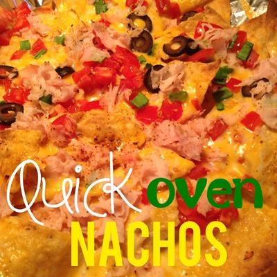 Quick Oven Nachos