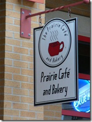 prairie cafe sign-image