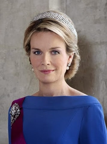 Belga (40)La reina Matilde de los belgas