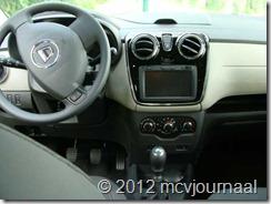 Proefrit Dacia Lodgy 09