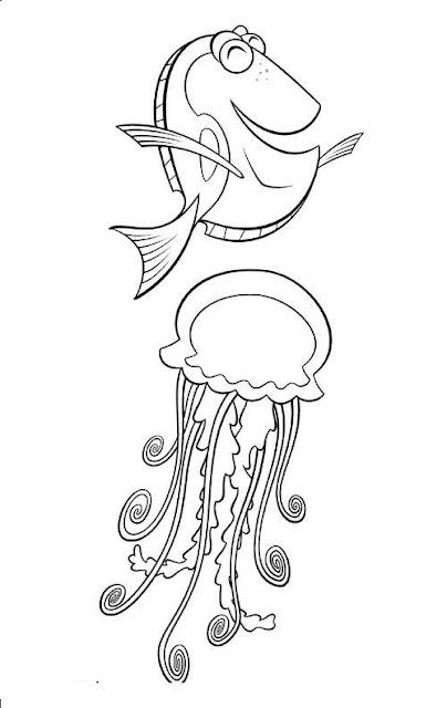Nemo dibujos disney para colorear - Dessin de nemo ...
