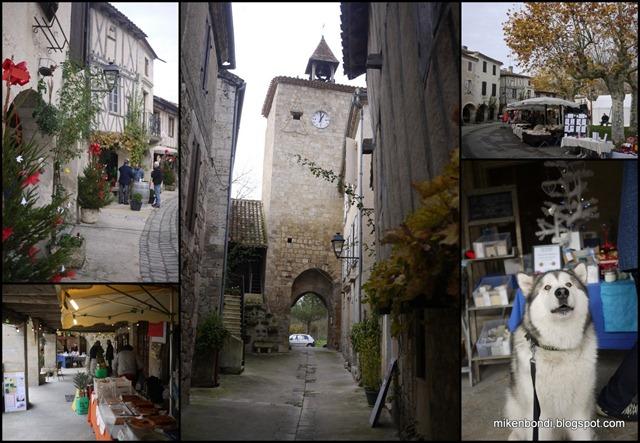 Fourcès Xmas market