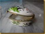 Tempat perhiasan panda - buka