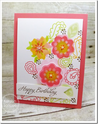 Karolyn - Blog Hop - Calico