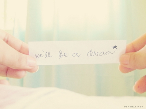 we_will_be_a_dream_quote