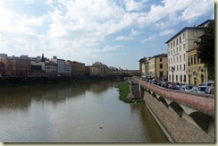 River Arno and Ponte Vecchio from Ponte Alle Grazie (Small)