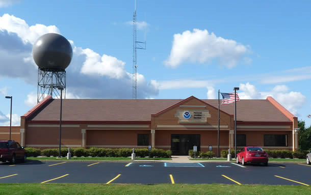 National Weather Service office in Gaylord, Michigan. Photo: Washington Post