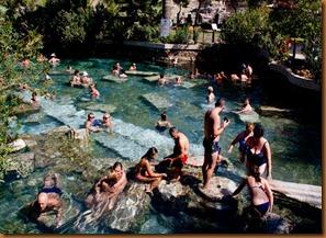 Pamukkale, Cleopatra's pool