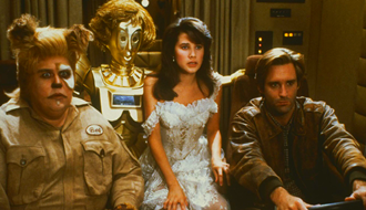 Spaceballs a parody to StarWars