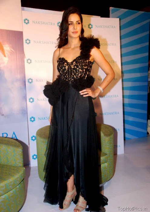 Katrina Kaif Hottest Pictures in Cute Black Dress 7
