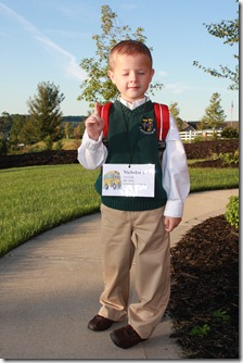 First Day of School 2009 005