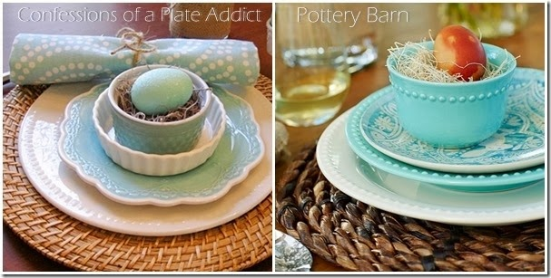 CONFESSIONS OF A PLATE ADDICT Getting the Pottery Barn Look for Less Comparison