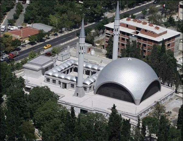 مسجد ساكرين اسطنبول