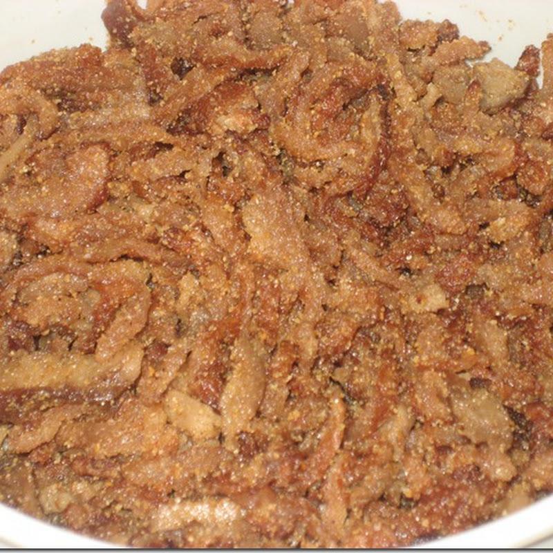 Nấu chay: Bì chay bằng bột mì căn
