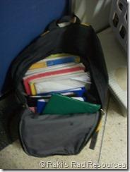 bookbag - moroccan student