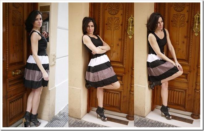 1195-003-37 vestido marrón
